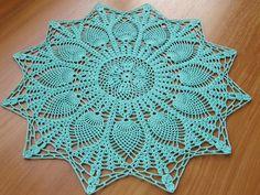 Ravelry: Starburst Pineapple Doily pattern by Old-Time Crochet magazine