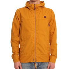 Pretty Green by Liam Gallagher Yellow hooded Jacket Liam Gallagher 9166a6f6c