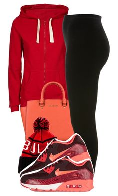 """""""Untitled #1629"""" by ayline-somindless4rayray ❤ liked on Polyvore featuring MICHAEL Michael Kors, Mitchell & Ness, Miss Selfridge and NIKE"""