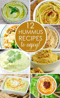 These homemade hummus recipes look so delicious and I never realised they were so simple to make!
