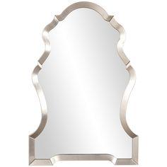 Howard Elliott Nadia Bright Silver Mirror 92062