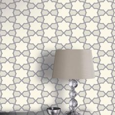 Arthouse Rio Geometric Natural Glitter Wallpaper - http://godecorating.co.uk/arthouse-rio-geometric-natural-glitter-wallpaper/
