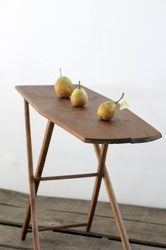 Small Ironing Board / Vintage Wood Ironing Board by 86home on Etsy, $98.00