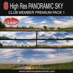 Packs  - BACKGROUND - Sky - High Res panoramics sky premium pack 00028 | Sketchuptexture