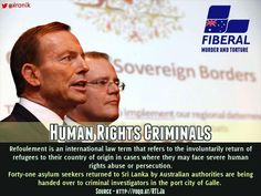 Barón Emilio Death @krONik  Does Abbott think #reshuffle Morrison to Social Security will save them both from The Hague?