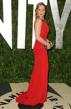 Abbie Cornish Photos: 2012 Vanity Fair Oscar Party Hosted By Graydon Carter - Arrivals