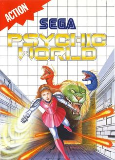 Psychic World for Sega Master System... I need to find this game on Ebay; still have my SMS MIB
