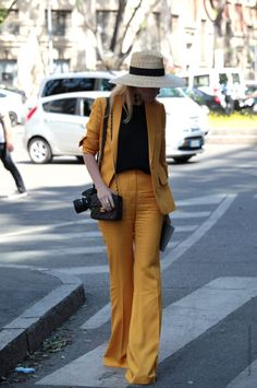 In the Street... Yellow