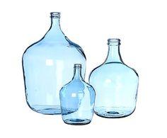 Damajuana de vidrio reciclado