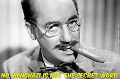 Not The Secret Word, Benghazi, GOP, Fox News, Tea Party, Conservative, Satire