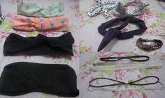 Minha coleção de headbands