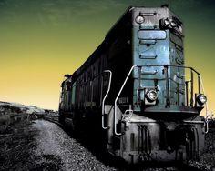 good train wallpaper