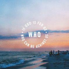 Inspirational Bible Verses - Romans 8:31 #quote #quotes #inspiration #motivation #God #Jesus #believe #quoteoftheday #Bible #faith #Christian #prayer #religion #Christ #church #catholic #afflink