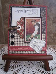 Наконец, скрапбукинг открытка 45 лет баба ягодка опять
