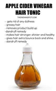 Apple Cider Vinegar for Beautiful Hair and Skin.