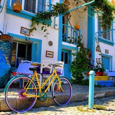 For anyone looking for a relaxing holiday, the colorful streets of Bozcaada are sure to be a great choice!