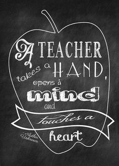Teacher Quote Instant Download by SMALLMOMENTSdesigns on Etsy, $4.00