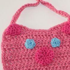 crochet pig baby big, organic yarn
