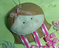 Ju Crafts!: Porta presilhas gigante!!!! headband case