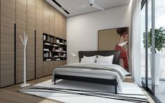 4 Contemporary Home Visualizations with Sleek Sophistication