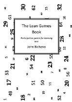 The Lean Games Book by John Bicheno. Games have been an integral part of Lean Education and Training ever since Hewlett Packard made their 'Stockless Production' video in 1982. Over two decades John Bicheno had been developing and refining games for all aspects of Lean and Operations Management. These have been assembled together to produce a compendium that will be useful to Lean and Operations trainers everywhere.