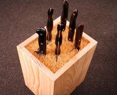 Tolle Idee für scharfe Messer.... #toom #Baumarkt #toomBaumarkt #toomTeam #Heimwerken #DIY