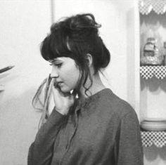 Take A Picture It'll Last Longer — 700seas:   Anna Karina in Une Femme Est Une Femme...