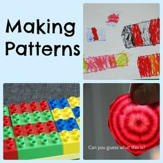 Making simple patterns and a quick introduction to patterns in nature.