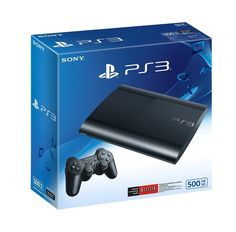 Sony PlayStation 3 Super Slim 500 GB Console, Charcoal Black, Brand New Brand New. Play, Stream, and Watch your favorite games, movies, and television... #charcoal #black #brand #console #slim #playstation #super #sony
