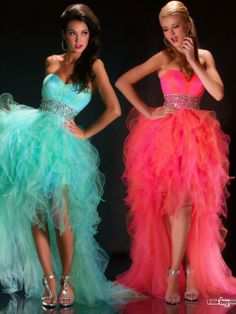 Amazing!!Hot Selling  Sweetheart Beaded Waist Layered High-Low Prom Dresses PD20094