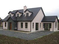Cute House, My House, House Designs Ireland, Dormer Ideas, Dormer Bungalow, Stone Porches, Bungalow Exterior, Bungalows, Building A House