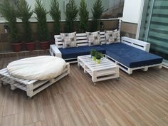 DIY Project Terrace Sofa