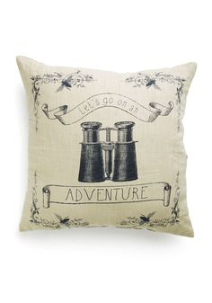 Route of Focus Pillow. The path to a charmingly festooned abode starts with this ModCloth-exclusive pillow! #multi #modcloth