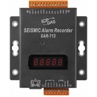 Seismic Alarm Recorder with 2 digital outputs and metal casing, communicates over Modbus RTU and Modbus TCP, supports operating temperatures from -25 °C ~ +75 °C (-13F ~ 167F). Learn more: http://www.icpdas-usa.com/sar_713.html?r=pinterest