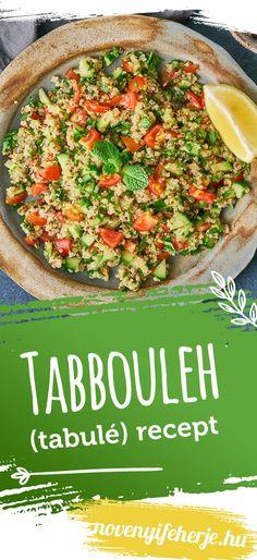 Vegan Protein, Healthy Recipes, Healthy Food, Pasta Salad, Quinoa, Ethnic Recipes, Bulgur, Healthy Foods, Crab Pasta Salad