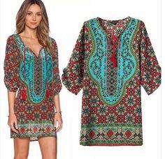 28af6e69abf Krátké dámské letní šaty k moři barevné – letní šaty+ POŠTOVNÉ ZDARMA Na  tento produkt se