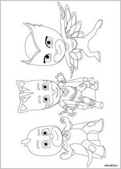 21 PJ Masks printable coloring pages for kids. Find on coloring-book thousands of coloring pages. Pj Masks Coloring Pages, Paw Patrol Coloring Pages, Cool Coloring Pages, Disney Coloring Pages, Printable Coloring Pages, Coloring Books, Pj Masks Printable, Superhero Coloring, Pokemon Coloring