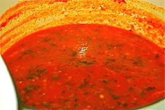 Tomato Soup Florentine {Naptime Everyday} | The Naptime Chef
