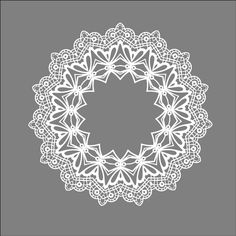 Lace Border Graphic | Lace Round | Free Vector Graphic Download