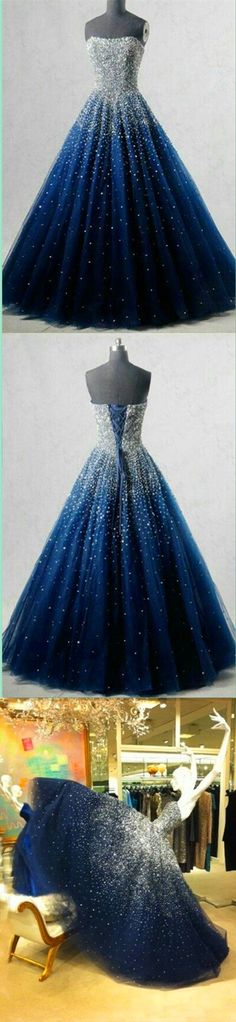 Charming Ball Gown Beaded Prom Dress,Long Evening Dress,Evening Dress,Sweet 16 Dress,Long Prom Dresses,Prom Dresses #royalblue #Beading #offshoulder #long #prom #evening #cocopromdress