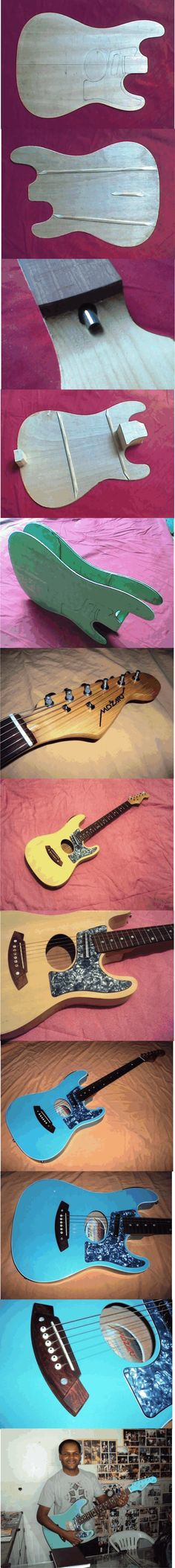 Violão Mozart - Fabricação Encomenda - Oficina das Guitarras Mozart