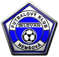 FK Slovan Nemsova , football / soccer logo , Slovakia