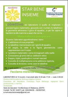 Star Bene Insieme - Laboratorio Giocoimparo a Palermo