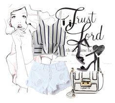 """""""Trust"""" by lisa-holt ❤ liked on Polyvore featuring Garance Doré, WithChic, Chicwish, Lanvin and NARS Cosmetics"""