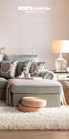 When you're short on space and money, turn to these storage solutions! My Furniture, Living Room Furniture, Multifunctional Furniture, Hidden Storage, Storage Solutions, Ottoman, Sofa, Throw Pillows, Money