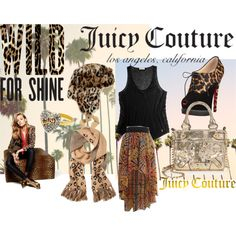 """""""POLYNIC - Wild for Gifts with Juicy Couture"""" by hartantinora on Polyvore"""