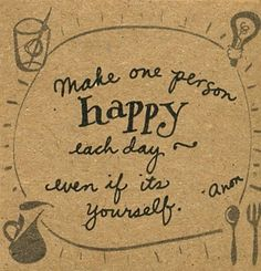 especially if it's yourself. #happiness #quotation #zappos