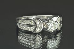 .75 Carat Solitaire Engagement Ring / .35 Carat Center, $995.00