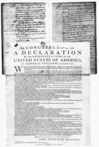 Facts about the Declaration of Independence