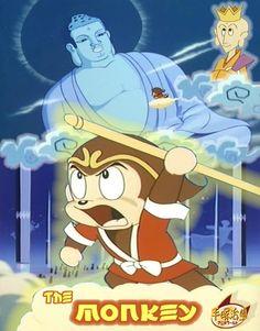 """Osamu Tezuka """"Goku no Daiboken"""" aka The Monkey, 1967"""